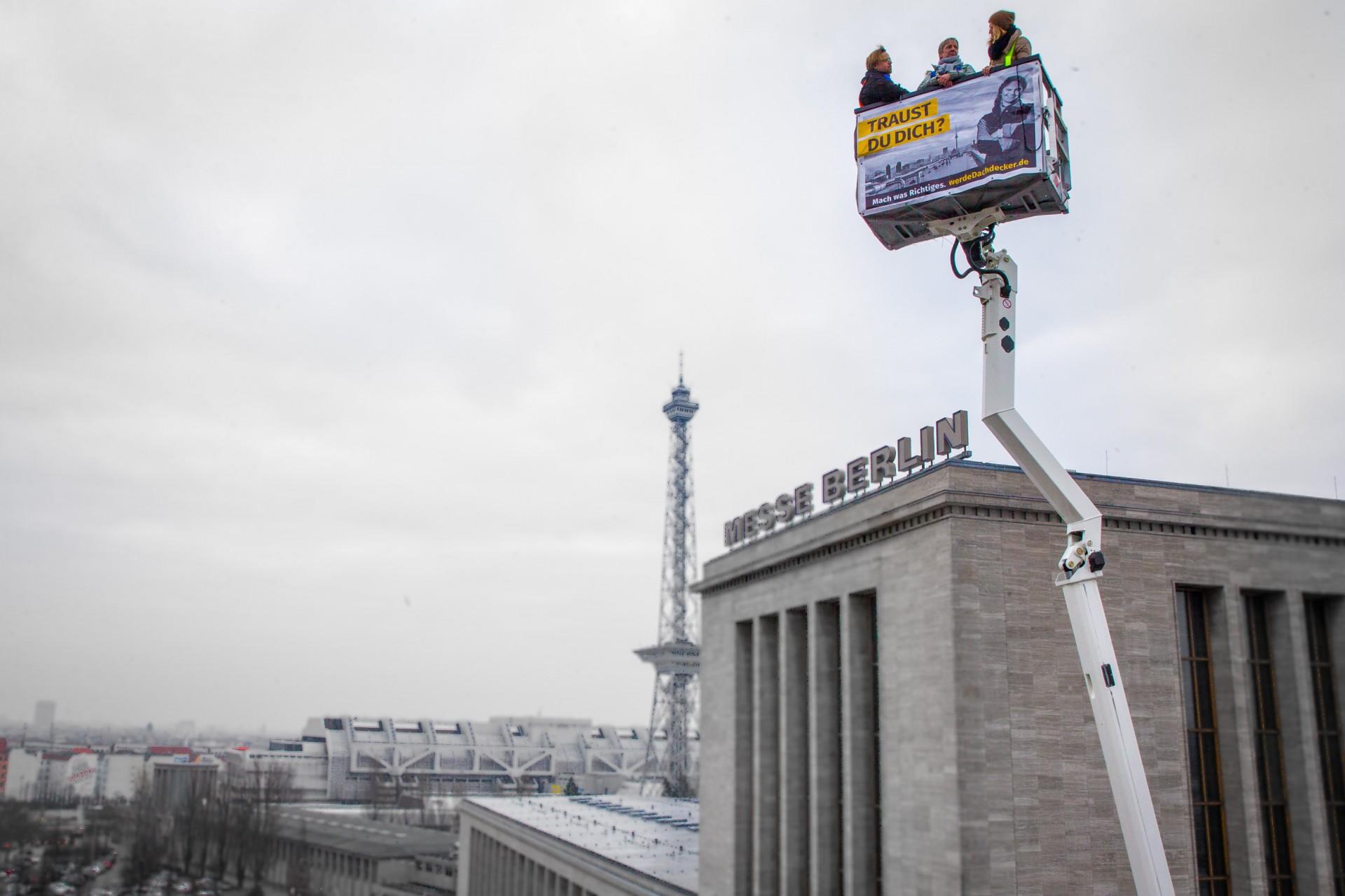 Dokumentation der Kampagne, Steigertour Messegelände