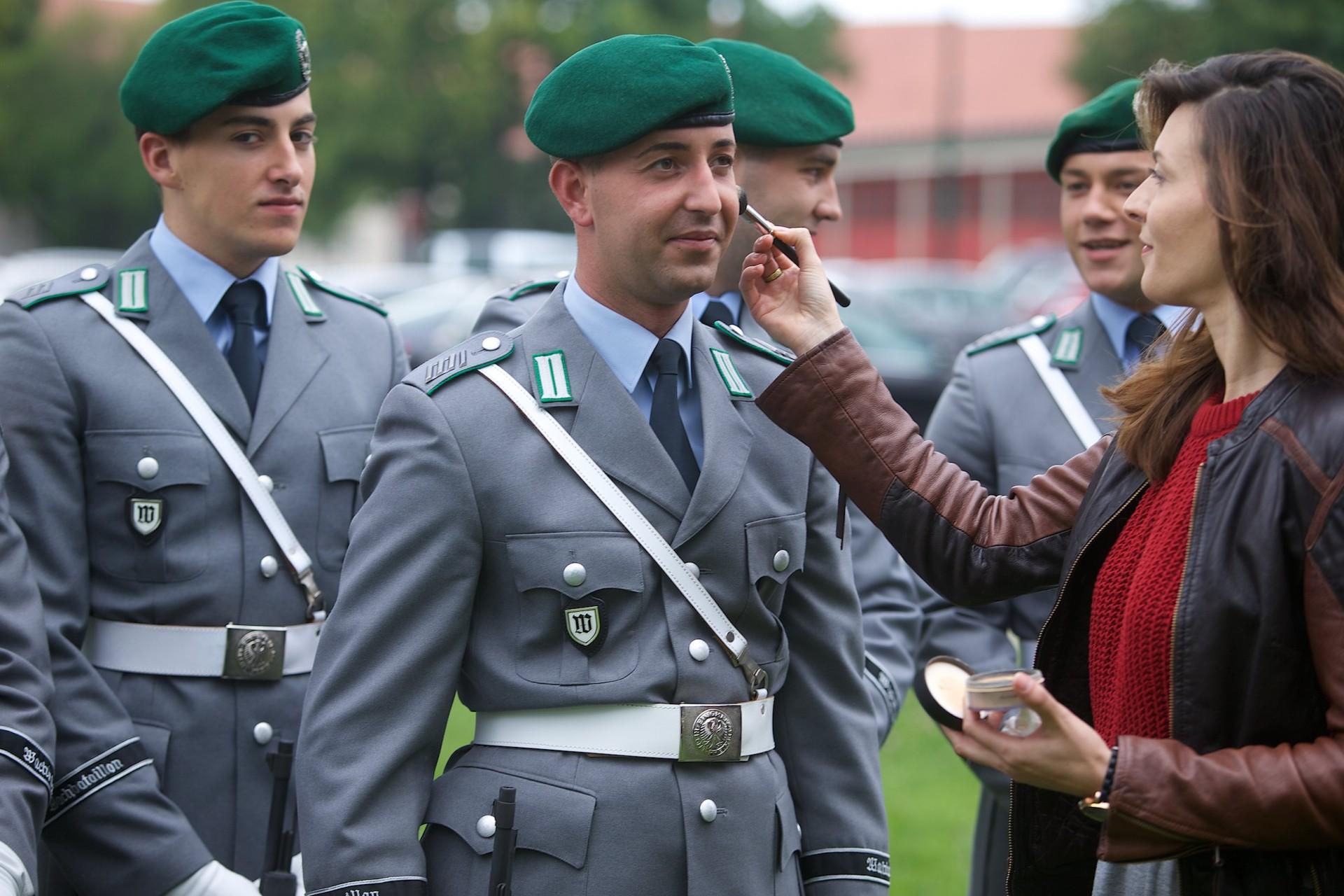 Vorbereitung auf einen Staatsbesuch Wachbataillon beim Bundesministerium der Verteidigung Kurt-Schumacher-Damm 41 13405 Berlin