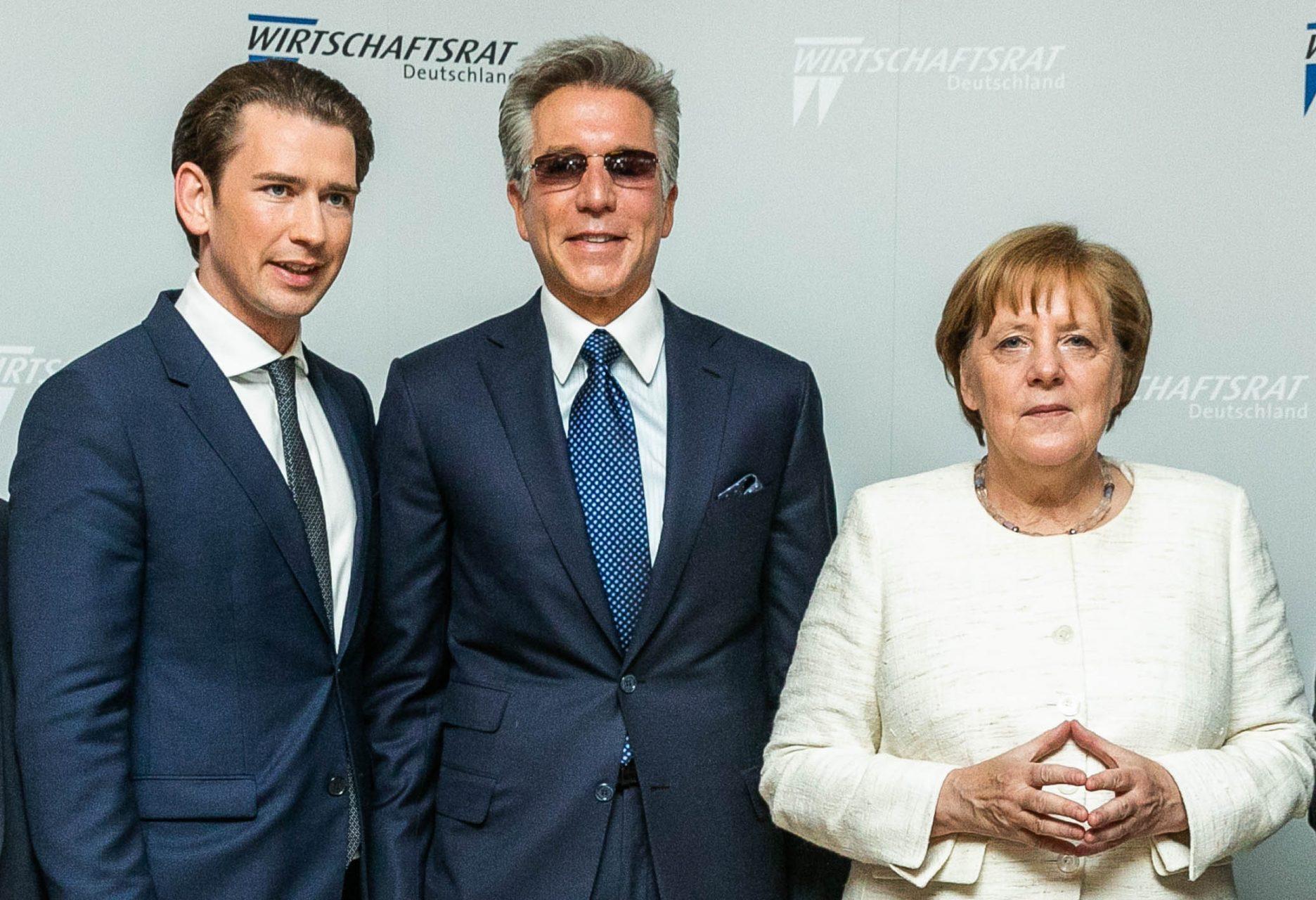 McDermott, Merkel, Kurz